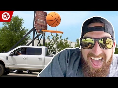 Thumbnail: Dude Perfect | The Making Of Giant Basketball Trick Shots