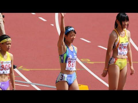 【陸上/ハードル】平成27年度北信越高校総体 女子7種競技100mH 2組目 ▶2:15
