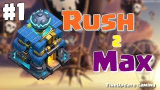 #Rush2Max TownHall 12 Rush 2 Max + YouTube Live ChatBot | Episode #1 | LIVE | By: FireUpdate Gaming