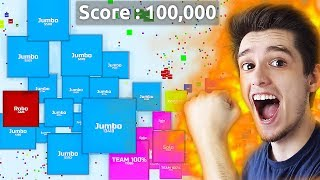 Agario - 100,000+ Score Epic Agario with Squares Gameplay