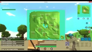 Playing roblox fortnite (island royal)