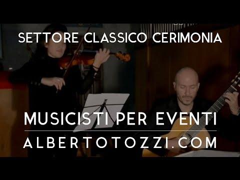 Musica per Matrimonio - Cerimonia in chiesa - Duo chitarra e violino