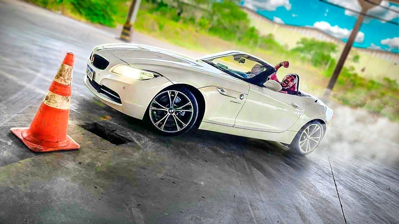 ME SURPRIENDI COM BMW Z4 FAZENDO DRIFT 😱