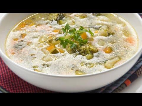 Receta de sopa de hortalizas - Karlos Arguiñano