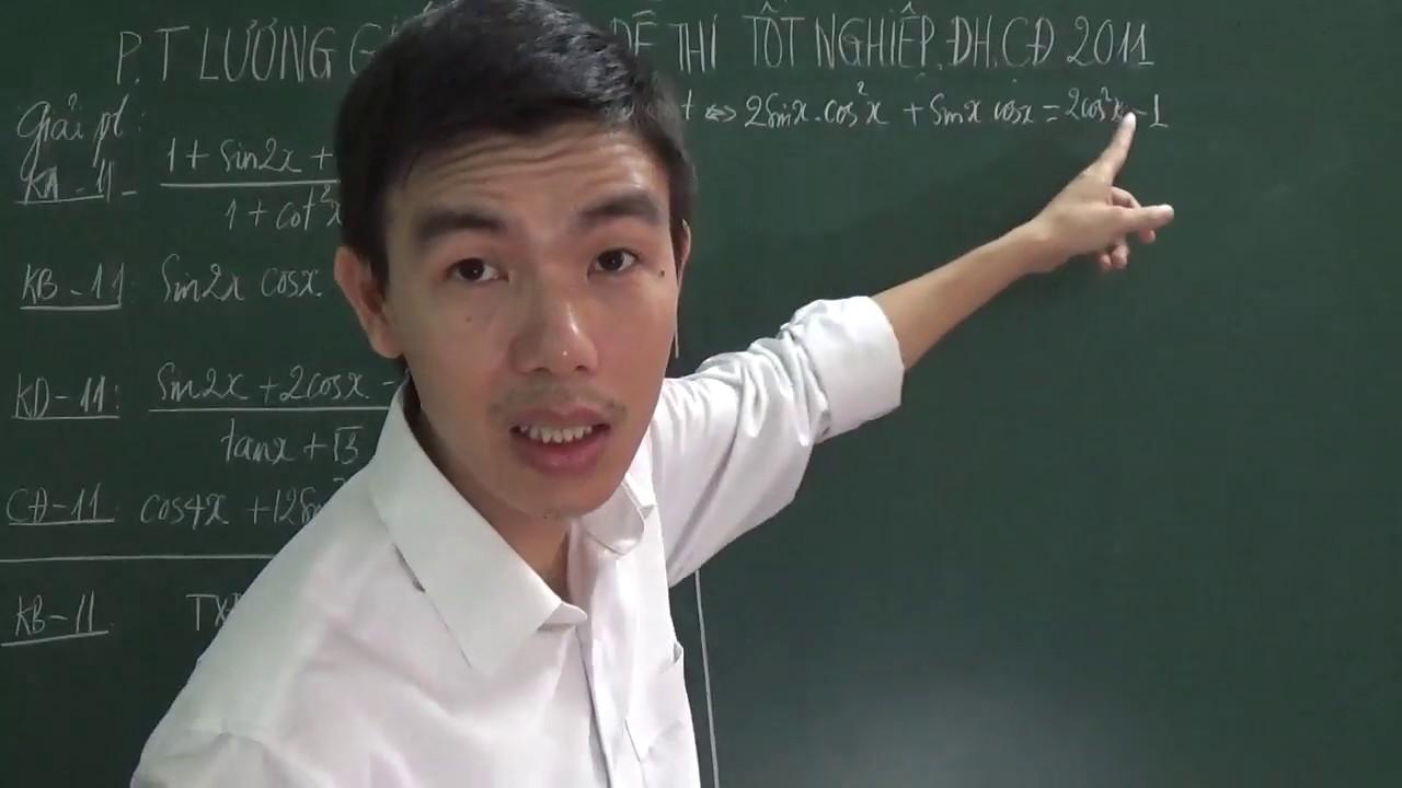 [Toán 11] – Phương trình lượng giác trong đề thi Đại học, Cao đẳng môn Toán năm 2011
