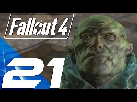 Fallout 4 - Gameplay Walkthrough Part 21 - Glowing Sea & Virgil (Large Radiation)