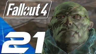 Fallout 4 - Gameplay Walkthrough Part 21 - Glowing Sea & Virgil (Large Radiation)