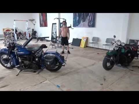Hunting Harley's, back arms and chest September 25th 2015