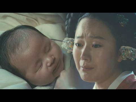 Yoon Jin Seo switches her son for safty 《The Royal Gambler》 대박 EP02