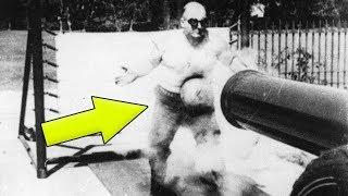 Der einzige Mann, der einen Kanonenkugelnschuss überleben konnte!