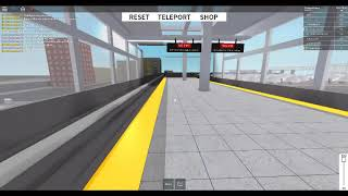Roblox, Subway Testing Remastered, Subway Ride from north to testing west!!!
