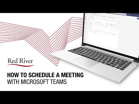 How to Schedule a Meeting in Microsoft Teams - CWPS