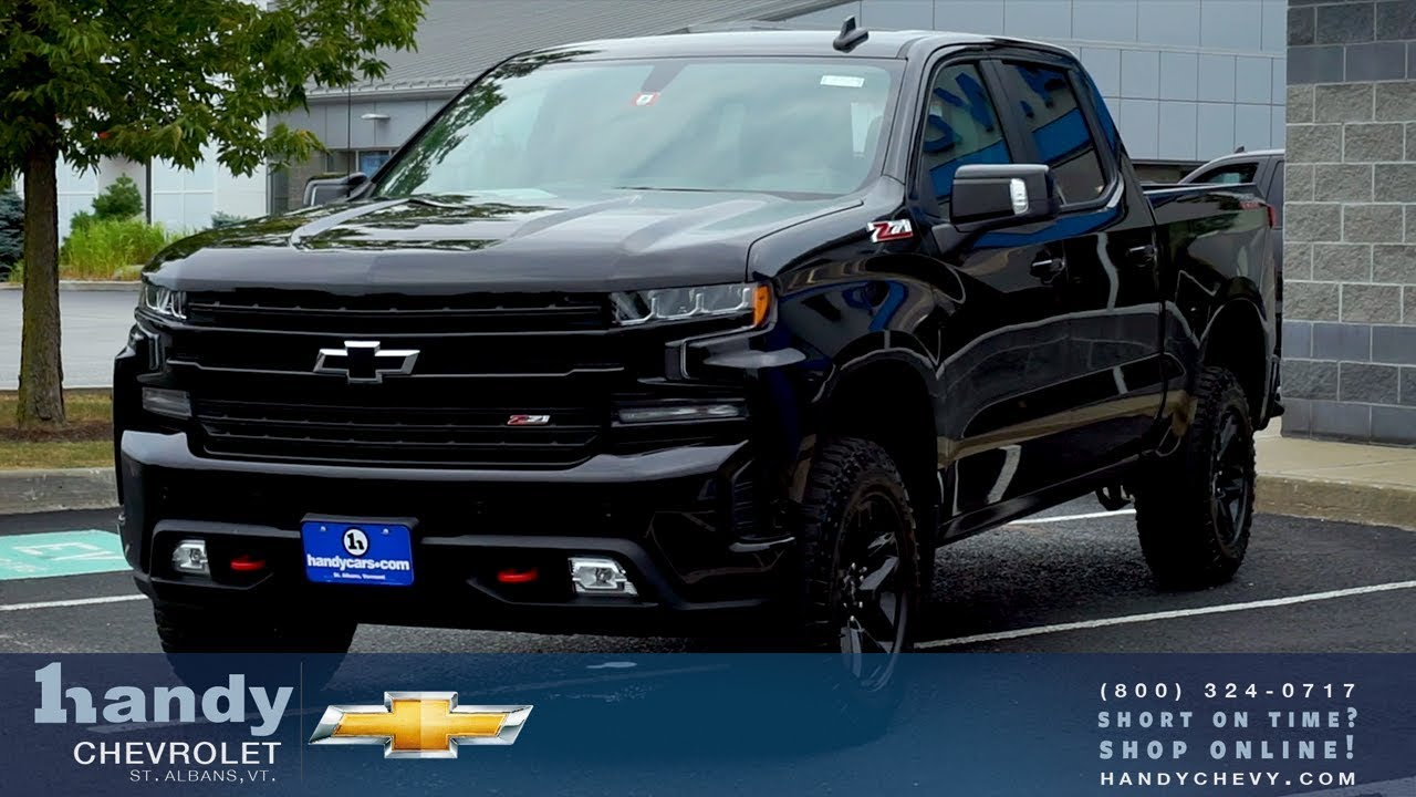 All NEW 2019 Chevy Silverado 1500 Z71 TrailBoss from Matt ...