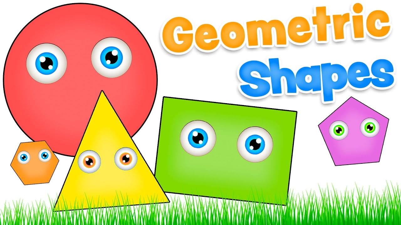 GEOMETRIC SHAPES In English For Kids