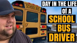Day in the life of a School Bus Driver!