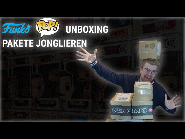 PAKETE JONGLIEREN - FUNKO UNBOX
