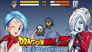 BULMA VS TOWA - Bulma plays Dragon Ball Devolution!! The End of Bitch Tits