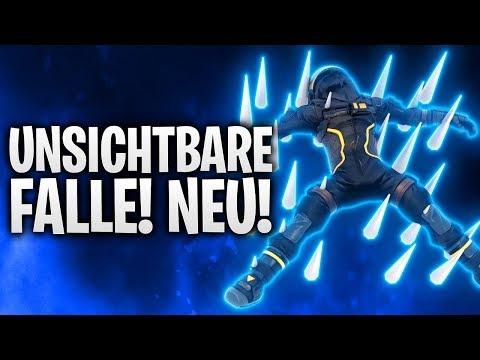 DIE UNSICHTBARE FALLE! NEU! 🔥 | Fortnite: Battle Royale