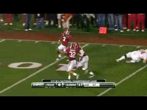 #1 Alabama Defeats #2 Texas   2009 BCS National Championship Highlights