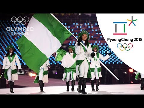 African Nations At The Opening Ceremony | Day 1 | Winter Olympics 2018 | PyeongChang