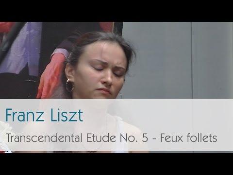 Franz Liszt - Transcendental Etude No. 5 - Feux follets - Dinara Klinton