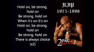 2pac feat. Nujabes - Hold on be strong (lyrics)