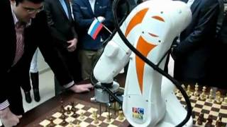 Robot vs World Chess Champion-14 Vladimir Kramnik