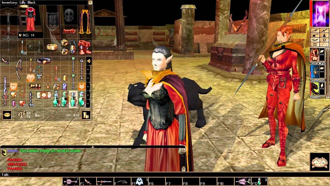 Let's Play Neverwinter Nights 145 Mutamin's Challenge Level Three #1