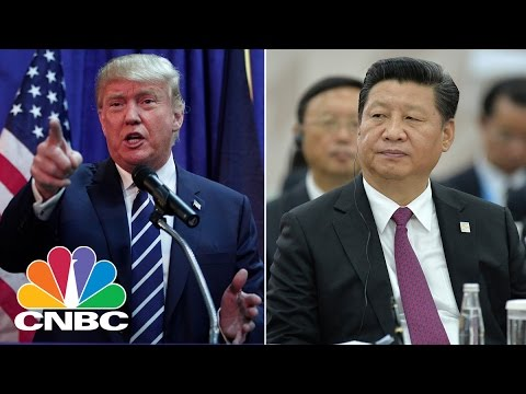 Trade Takes Center Stage At President Trump Meeting With President Xi Jinping   CNBC