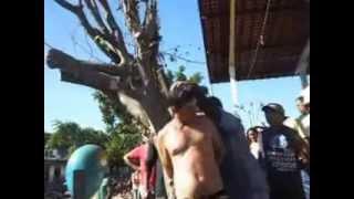 Ladrão de moto é pego por moradores em Cana Brava - MA