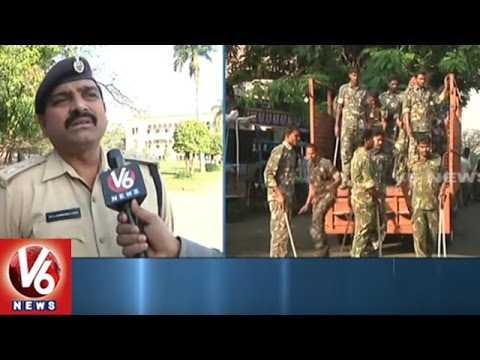 Police High Security In Osmania University Over AHead Of Unemployment Rally | Hyderabad | V6 News