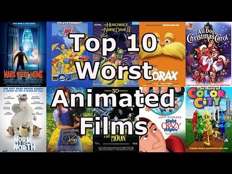 foto de My Top 10 Worst Animated Films YouTube
