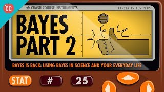 Crash Course: Statistics: Discrete and Continous Bayesian Inference thumbnail