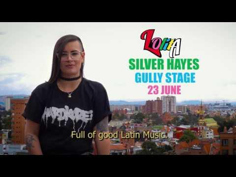 DJ Lolita at Silver Hayes, Glastonbury Festival