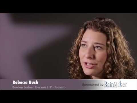 Rebecca Bush  Borden Ladner Gervais LLP – Lexpert Rising Stars 2015