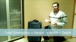 How to Work Out Your Luggage Dimensions