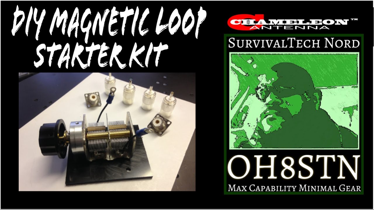 Building a Magnetic Loop Antenna Series for Beginners [Video