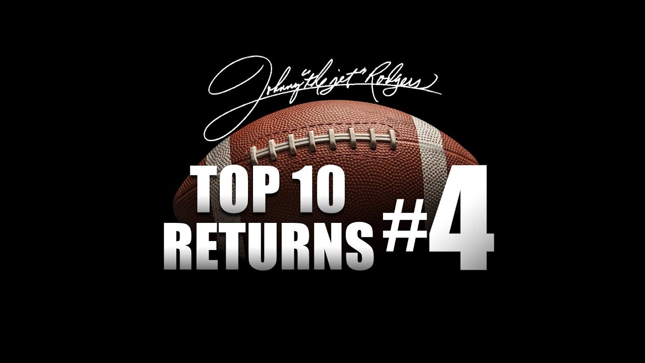 #4 Nebraska vs Alabama - Johnny Rodgers - YouTube