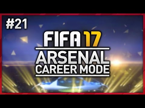 CHAMPIONS LEAGUE FINAL!!! ARSENAL CAREER MODE - EPISODE #21