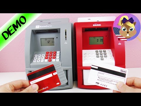 ATM COMPARISON - Which Home ATM is Better? Electronic Piggy Bank