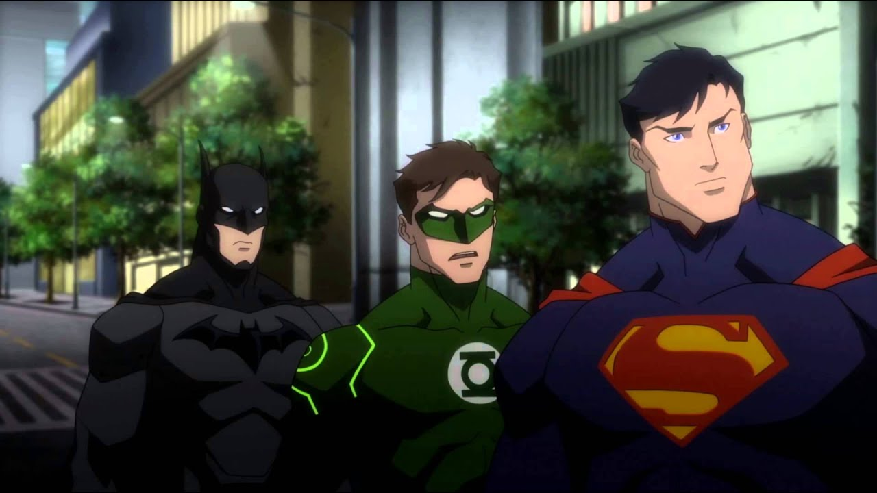 Justice League War: Darkseid's arrival - YouTube