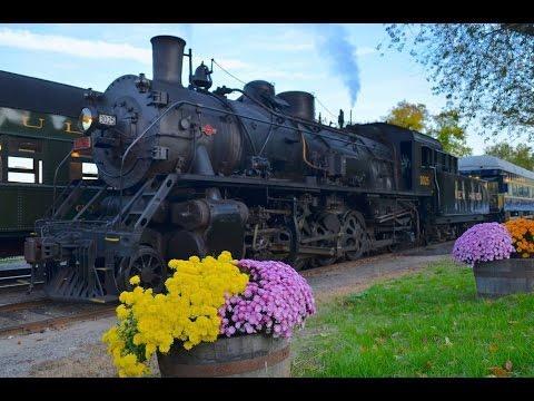 Valley Railroad - Essex Steam Train, Essex Connecticut - 3025 & 40