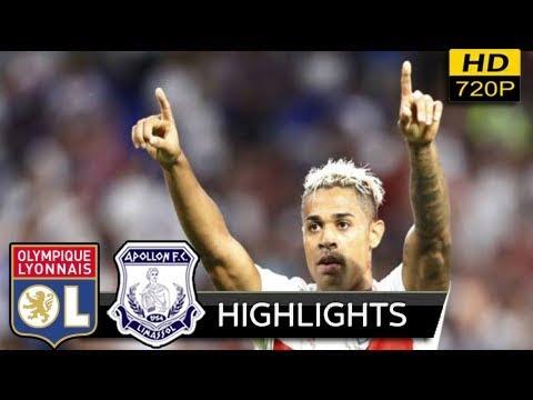 Download Lyon vs Apollon Limassol 4-0 - extended Highlights & All Goals (uefa europa league) 23/11/ 2017 HD