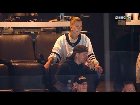 Ashlee - Justin Bieber Attends Bruins vs Maple Leafs in Boston. Bruins win.