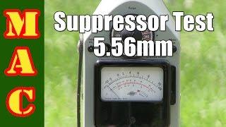 testing 5 56mm suppressors