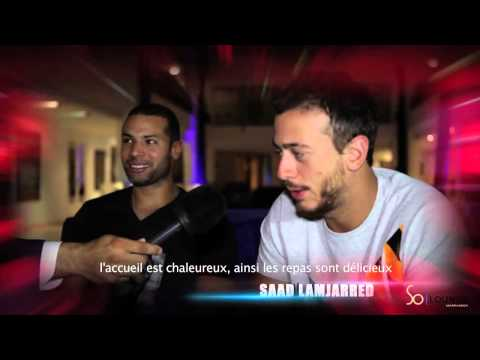Saad Lamjarred Et DJ VAN SO Lounge Marrakech ENTY Tour