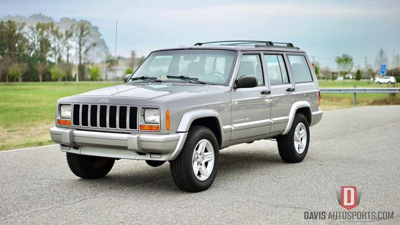Davis AutoSports VERY RARE 2001 CHEROKEE XJ LIMITED / 92K