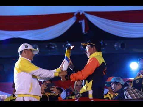 Opening Ceremony Porwil Sumatera X