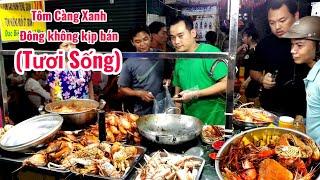 Xếp hàng ăn tôm càng xanh, tôm hùm hấp ( tươi sống) ở Sài Gòn | saigon travel Guide