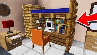 СЕКРЕТНЫЕ ПОСТРОЙКИ Minecraft КОТОРЫЕ ВЫ МОЖЕТЕ ПОСТРОИТЬ ТУТОРИАЛ